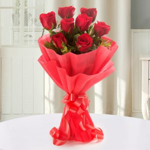 Enigmatic Red Roses