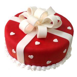 Vanilla Fondant Cake