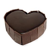 Truffle Choco Heart Cake