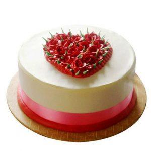 Rose Pineapple Cake