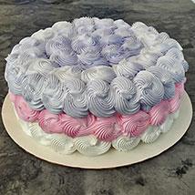 Flora vanilla Choco Cake