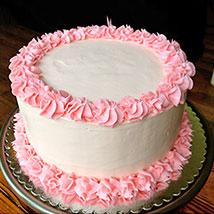 Fresh Vanilla Cream Cake
