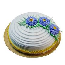 Pineapple Swirl Round Cake Wishing Shop