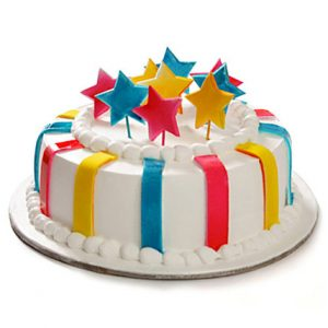 Designer vanilla cake