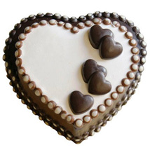 Special Choco Heart Cake
